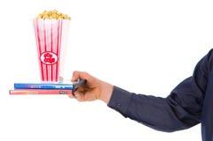popcornu filmu obrazy royalty free