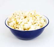 popcornu miski Obrazy Stock