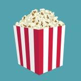 Popcornvektor Lizenzfreies Stockbild