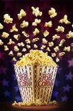 Popcornzirkus Stockbild