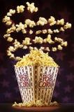 Popcornzirkus Lizenzfreie Stockfotos
