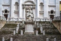 Pope's广场,安科纳,马尔什意大利 图库摄影