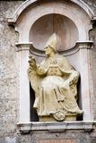 Pope. On a fassade in Innsbruck Austria Stock Image