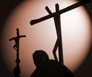pope стоковое фото rf