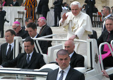 Pope Benedict XVI. Joseph Alois Ratzinger Stock Photography