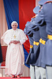 Pope Benedict XVI. Visits Czech Republic in 2009 Royalty Free Stock Photo