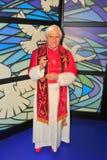 Pope Benedict XVI at Madame Tussaud's museum Stock Photography