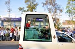 Pope Benedict XVI visit to Mexico Royalty Free Stock Image