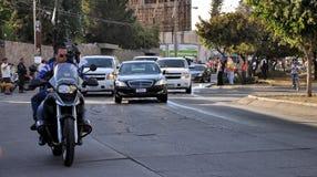 Pope Benedict XVI visit to Mexico Stock Images