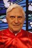 Pope Benedikt XVI. JULY 10, 2008 - BERLIN: the wax figure of Pope Benedikt XVI. aka Joseph Alois Ratzinger - opening of the waxworks Madame Tussauds, Unter den Stock Photos