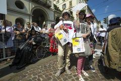 Pope Francesco I visit Torino Royalty Free Stock Photography