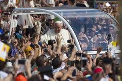 Pope Francesco I visit Torino Royalty Free Stock Images