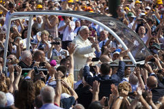 Pope Francesco I visit Torino Royalty Free Stock Image