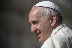 Pope Francis Obrazy Stock