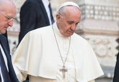 Pope Francis fotografia stock