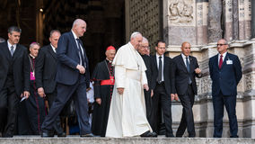 Pope Francis Stock Images