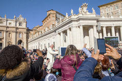 Pope Francis I Stock Images