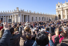 Pope Francis Ja Fotografia Stock