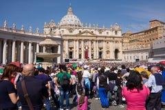 Pope Franciscus Royaltyfri Fotografi