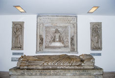 Pope Grave from Saint Peter Basilica, Rome Royalty Free Stock Photography