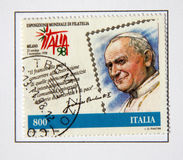 Pope John Paul Ii imagen de archivo