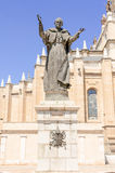 Pope John Paul II statue Royalty Free Stock Photos