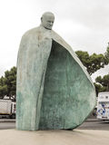 Pope John Paul II statue, Rome Stock Photography