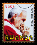 Pope John Paul Postage Stamp Royalty Free Stock Photography