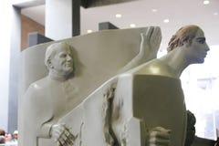 Pope John Paul Statue - Vatican Museum Stock Photo