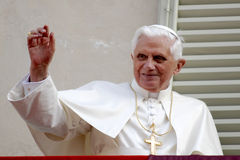 Pope Joseph Benedict XVI royalty free stock photo