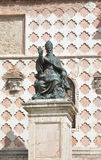 Pope Julius III. Bronze statue of Pope Julius III in Perugia Stock Photos