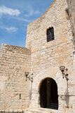 Pope Luna's Castle in Peniscola, Spain Stock Photo