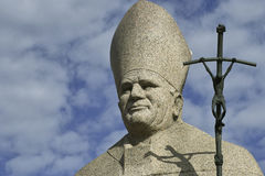Pope monument Royalty Free Stock Photography