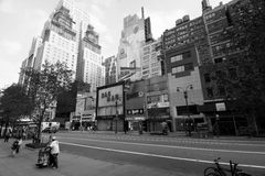 Pope New York on wall Royalty Free Stock Image
