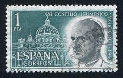Pope Paul VI Stock Image