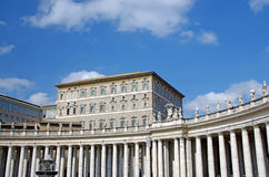Pope's apartment Stock Photos