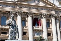 Pope's balcony Royalty Free Stock Image