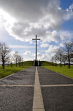 Pope's cross in Dublin Royalty Free Stock Images