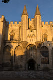 Pope`s Palace Entrance, Avignon Royalty Free Stock Photo