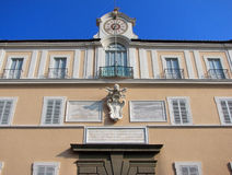 Pope's summer residence Royalty Free Stock Photos