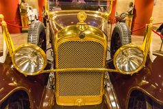 Pope samochód Citroen, sala historyczni transportów pojazdy Pope, Watykan Obrazy Royalty Free