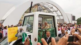 Pope w Bresso Obrazy Stock