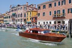 pope wizyty Venice Zdjęcia Stock