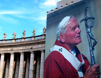Pope Wojtyla Stock Photo