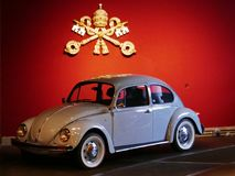 Popemobile博物馆 免版税库存照片