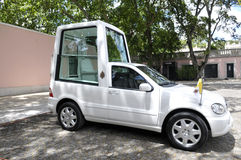 Popemobile Parked at Portuguese Presidential Palace, Lisbon