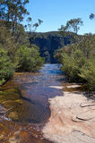 Popes Glen Creek and Gorge Royalty Free Stock Image