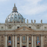 Popes John XXIII and John Paul II to be Canonized Royalty Free Stock Images
