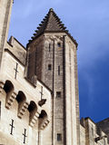 The Popes' Palace in Avignon, France. UNESCO world Heritage site Stock Image