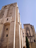 Popes' palace in Avignon, France. The Popes' palace in Avignon, France Stock Photo